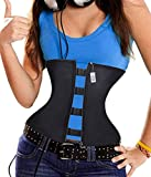 Product review for Latex Waist Cincher Waist Trainer Trimmer Long Torso with 6 spiral steel bones