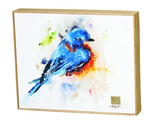 Bluebird Wall (Demdaco Big Sky Carver Springtime Bluebird Wall Art)