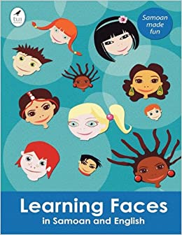 Learning Faces in Samoan and English (Tui Language Books) (Samoan Edition)