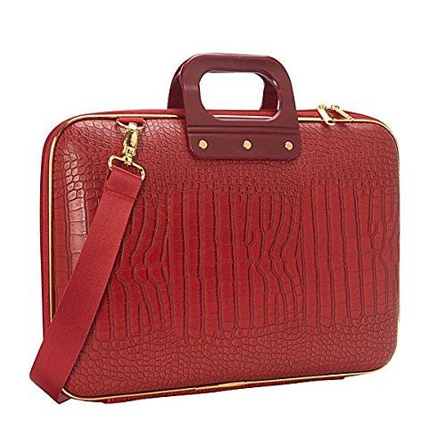 bombata-gold-cocco-briefcase-156-inch-red
