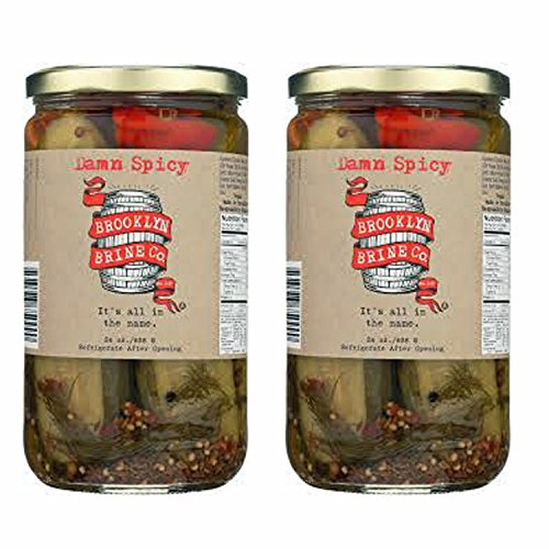 Brooklyn Brine Co. Damn Spicy Pickles - 2 Pk