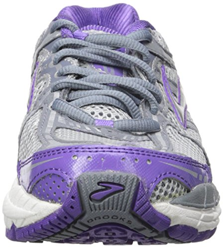 Brooks - Zapatillas de Running Mujer Electric Purple/Flint Stone/Silver