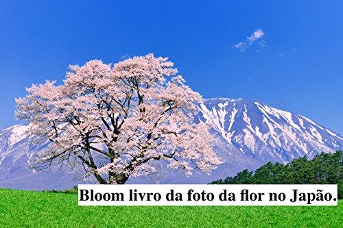 Bloom livro da foto da flor no Japão. (Portuguese Edition)