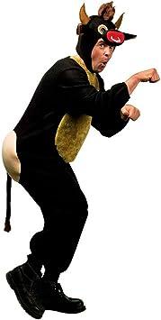 Disfraz de toro disfraz-Marrón XL 54/56 toros disfraz policía de ...