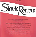 img - for Slavic Review : Ambiguity as agent in Pushkin's and Shakespeare's Historical Tragedies; Religious Tolerance & Muslim Pilgrimage in the Russian Empire; The Culture of Gender in Soviet Russia 1921-1928 book / textbook / text book