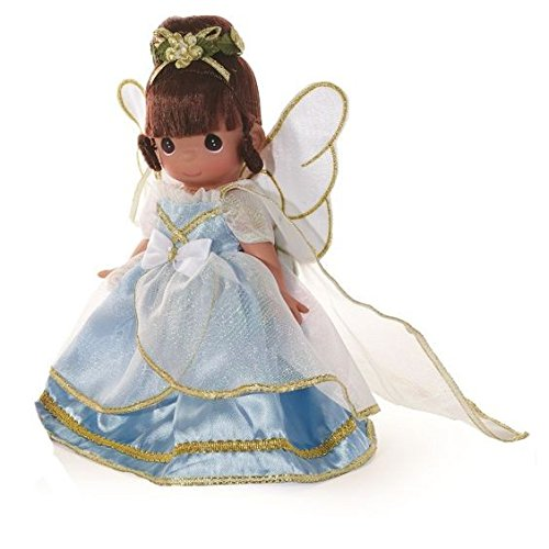 """Precious Moments Angels From Above Brunette Doll, 9"""""""
