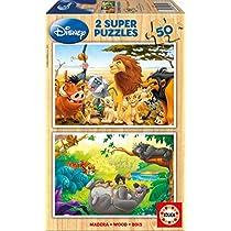 Educa Borrás - Disney Friends Puzzle, 2 x 50 Piezas (13144)