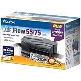 Aqueon 06079 QuietFlow 55/75 Power Filter, 400-GPH