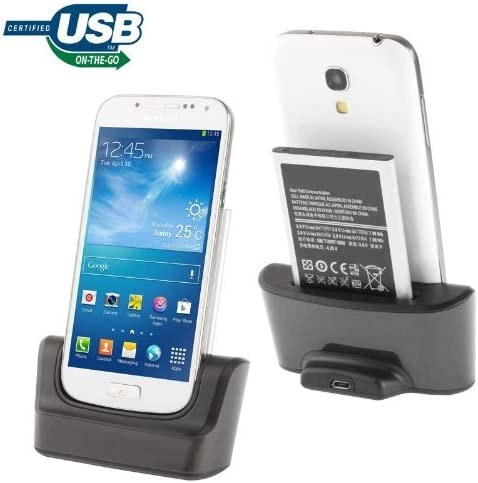 Caricabatterie e docking station per Samsung Galaxy S4