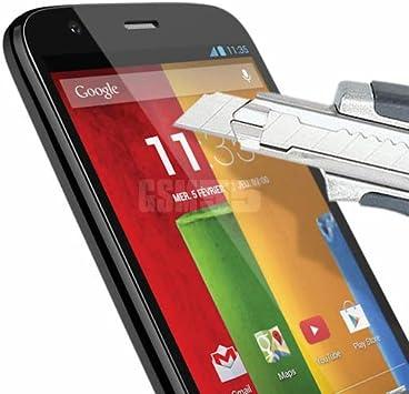 Access-Discount - Protector de pantalla de cristal templado para Nokia Lumia 535 4G (filtro protector de pantalla invisible e imposible de rayar, vidrio irrompible ...