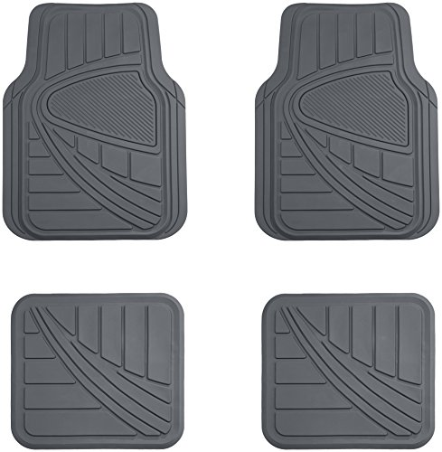 AmazonBasics 4 Piece Car Floor Mat, - Acura Car Mats