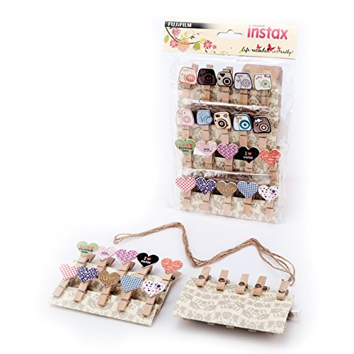 Price comparison product image Fujifilm Instax Magnetic Pegs And Twine