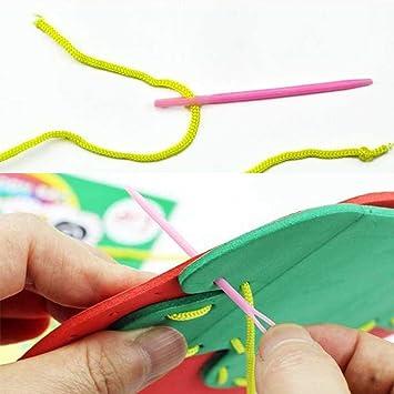 Xiton Handwerk Cartoon Tasche Nähzeug für Kinder Anfänger Mädchen ...