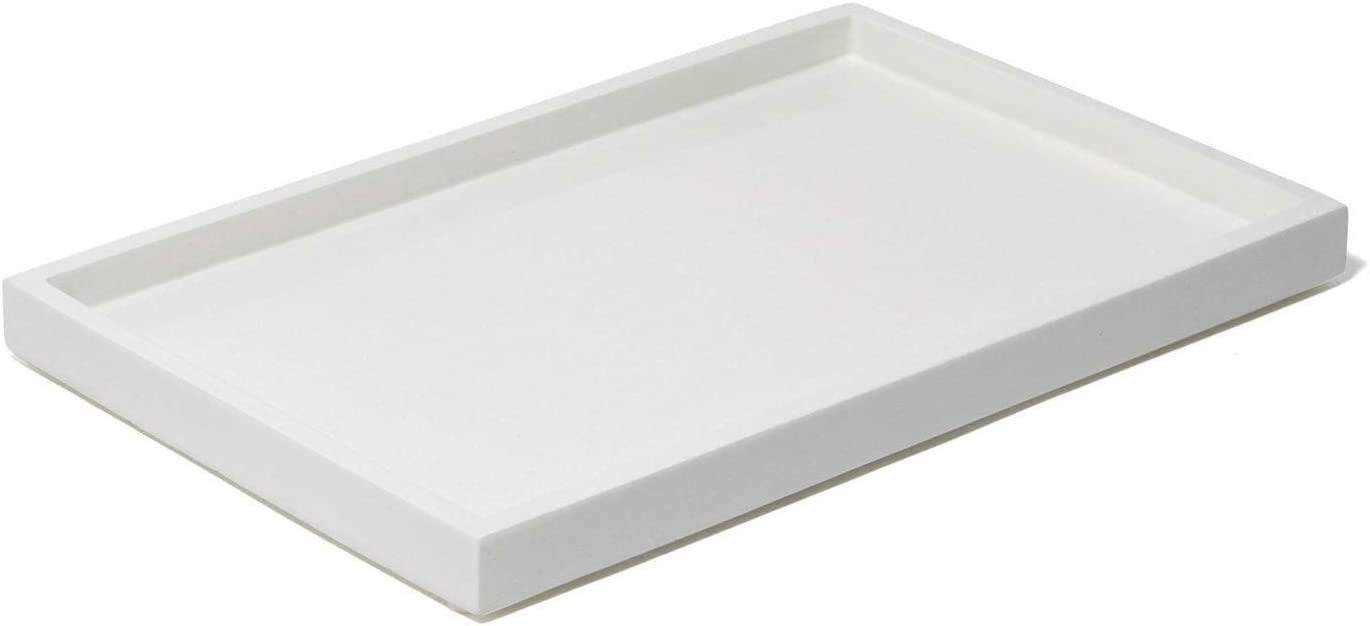 Jonathan Adler Lacquer Bath Tray, One Size, White