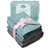#6: Weighted Blankets Adult Size-For Heavy Stress Relief, Autism, Restless Leg Syndrome & natural calm for anxiety - Tide 48x72