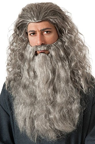 Plus Size Traditional Nun Costumes (Gandalf Wig and Beard Kit Costume Accessory)