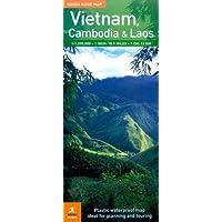 The Rough Guide Map Vietnam, Laos & Cambodia