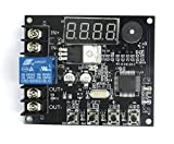 WINGONEER 12V of battery discharge module under-voltage protection relay board type low voltage detection relay module V3.4