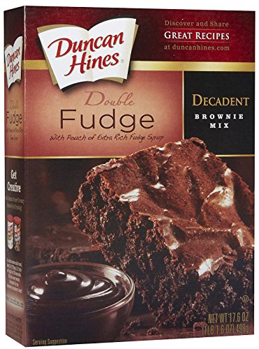 (Duncan Hines Decadent Brownie Mix Double Fudge, 17.6 oz )