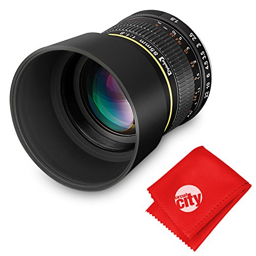 Opteka 85mm f/1.8 Manual Focus Aspherical Medium Telephoto L