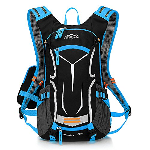 LOCALLION Cycling Backpack Biking Daypack Bike Rucksack C...