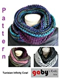 Tunisian Infinity Cowl Crochet Pattern