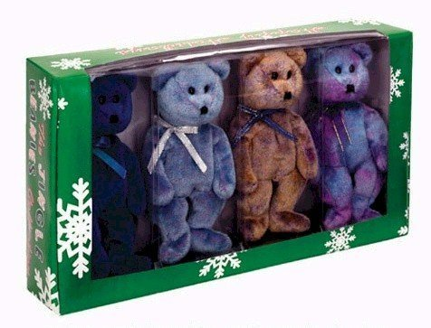 - Ty Jingle Beanies Clubby - Boxed Set of 4 (BBOC Exclusive)