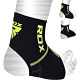 RDX Neoprene Ankle Brace Foot Guard MMA Pad Protector Achilles Pain Tendon Support (SOLD AS SINGLE ITEM)