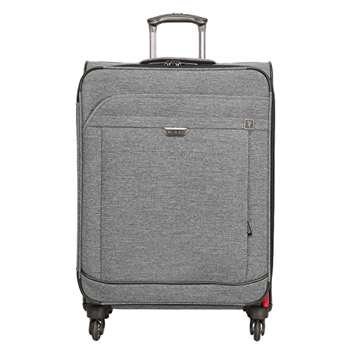 Ricardo Beverly Hills Malibu Bay 25 Inch Spinner Upright Suitcase  Gray