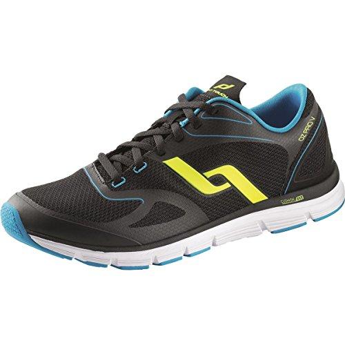 Pro Touch Zapatillas de Run oz Pro V M SCHWARZ/BLAU/GELB Talla:41 - SCHWARZ/BLAU/GELB