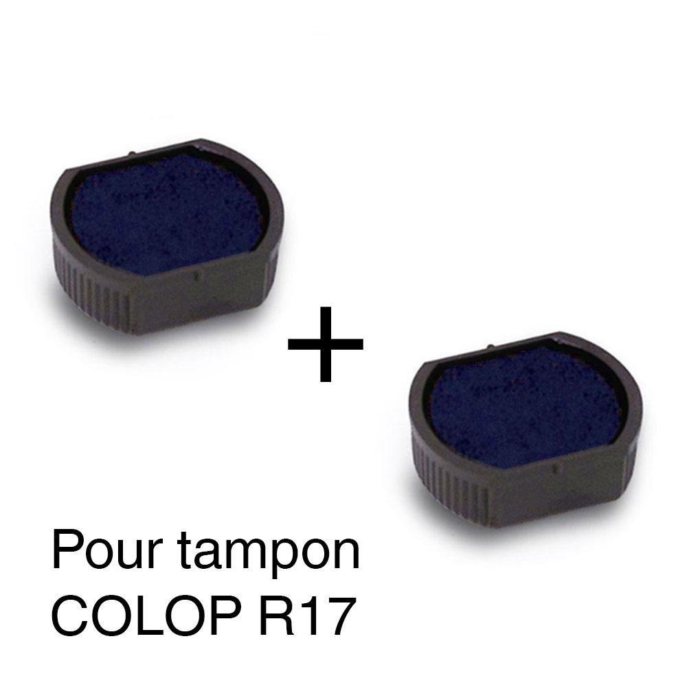 2Cassette di inchiostro ricarica per timbro Colop R1717mm–Blu Autre