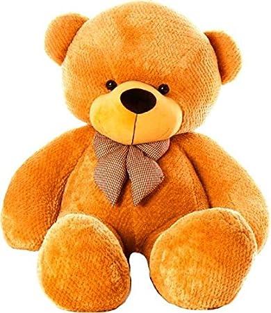 91af1bb709b Buy CLICK4DEAL Soft Teddy Bear 4 Feet Long Pink (122 Cm) (Brown ...