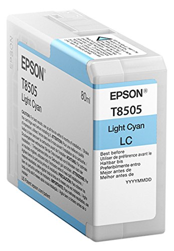 Epson T850500 T850 UltraChrome HD Light Cyan Ink