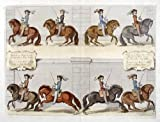 """Equestrian Dressage print from """"A General System of"""