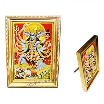 Buy Vedic Vaani Maa Kali Frame Online at Low Prices in India