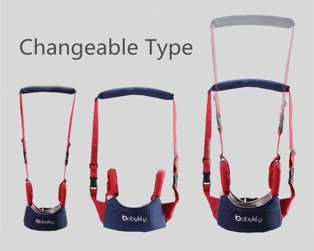 XLKJ Einstellbare Baby Lauflernhilfen G/ürtel,Walking Assistant Schutzg/ürtel Sicherheitsgurte