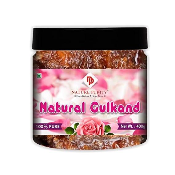 Nature Purify Natural Himalayan Gulkand (Rose Petal Jam), 400gm (jar Pack)