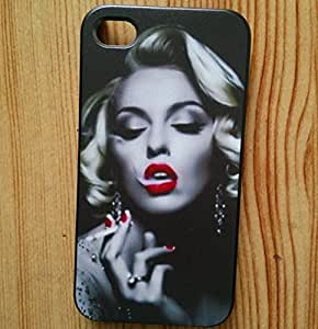 Marilyn Monroe Snap-On Carrying Case for iPhone 5, smoking