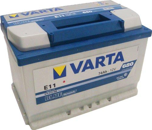 Varta Blue Dynamic Autobatterie E11 574 012 068 74Ah 680A  (Preis inkl. EUR 7,50 Pfand)