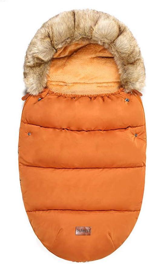 LTSWEET Universal Sacos de Abrigo Carritos Silla de Paseo Saco de Invierno T/érmica con Capucha Forro Polar Antideslizante Aire Libre para Cochecito Sillas de Coche