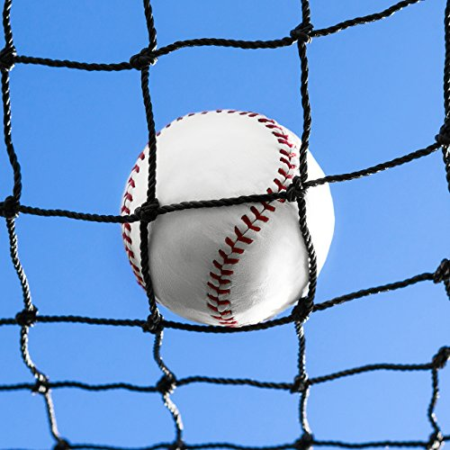 Baseball Net – 8 x 8 – Fully Edged Heavy Duty Net World Sports