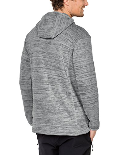Jack Hooded Everyday Marl Jacket Wolfskin Aquila Mens Alloy Knitted Fleece wqBn7twr