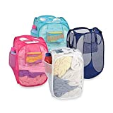 Ibros 40*40*70 Size Foldable Laundry Bag for Washing Clothes Storage(Color may vary)