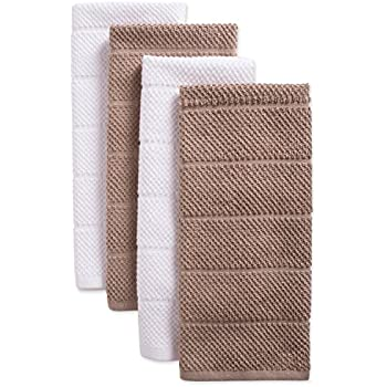 DII Cotton Luxury Chef Terry Dish Towels, 16x26