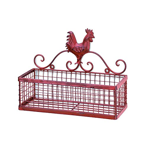 country rooster basket - 4