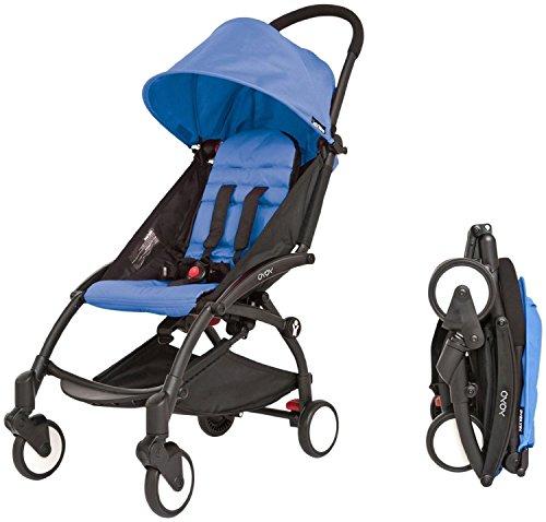 Babyzen YOYO+ Stroller, Black/Blue by Baby Zen