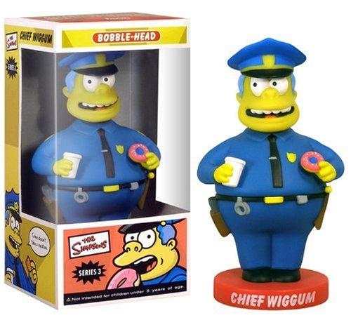 Chief Wiggum Wacky Wobbler Funko 8211