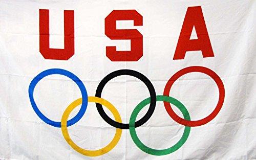 - NEOPlex 3' x 5' Flag - USA Olympics