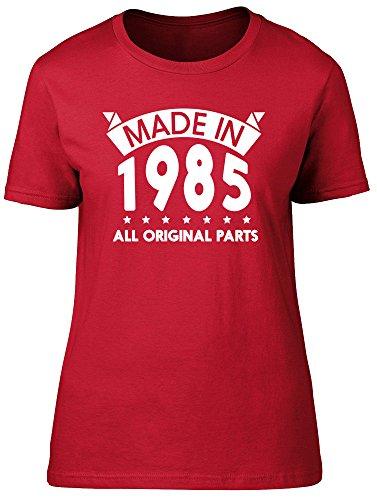 Shopagift - Camiseta - Mujer Rosso
