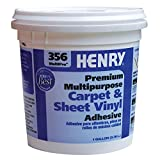 Henry 356C MultiPro Premiuim Multipurpose Carpet & Sheet Vinyl Adhesive (1 Gallon)